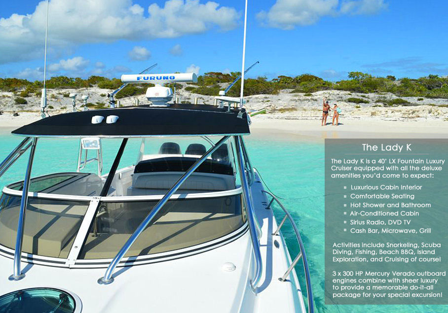 Turks and Caicos Luxury Yachts Lady K