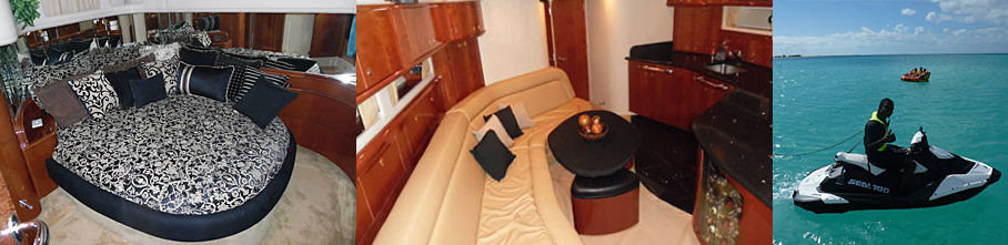 Inside of the Sea Dancer Turks and Caicos Luxury Yachts